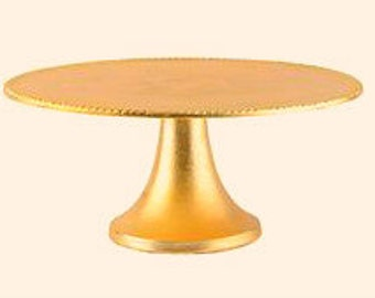 gold plated wedding cake stands gold cake stand etsy 14805