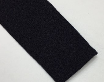 Vintage skinny black Scotland 16 S tie