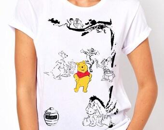 Disney's Winnie the Pooh Women's T Shirt