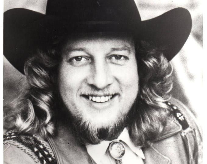 John Anderson April 20 1988 Black & White Press Photo