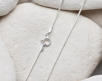 "18"" Sterling Silver Snake Chain (FREE UK SHIPPING)"