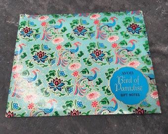 Vintage | Avon | Bird of Paradise | Gift Notes | Letter Set