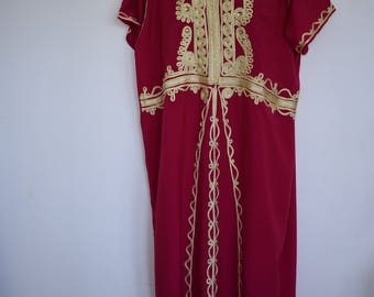 Beautiful ladies Moroccan embellished kaftan caftan