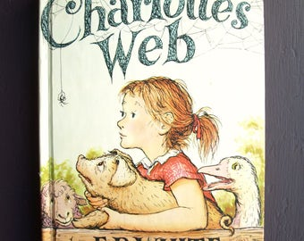 Charlotte's Web by E. B. White and Garth Williams 1980 HC