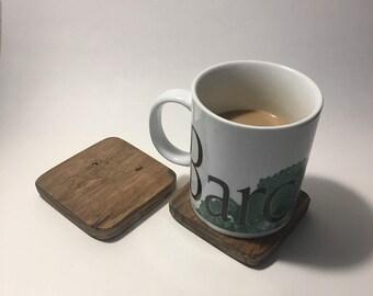 Maple Coasters - Pallet wood