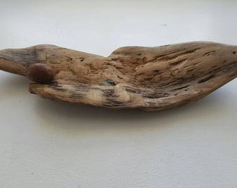 Porte encens bois flotté
