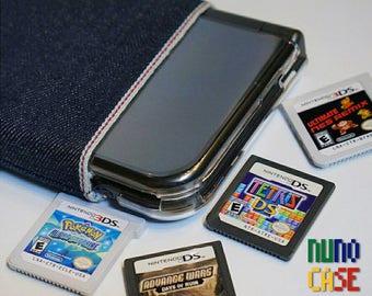 Japanese Raw Selvedge Denim 3DS/XL Sleeve