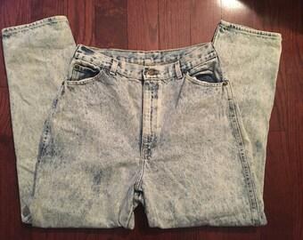 Vintage PS Gitano Acid Wash Jeans