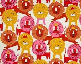 """Alexander Henry """"Little Lion"""" Fabric Fat Quarter"""