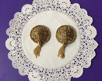 Gold Tasseled Pasties