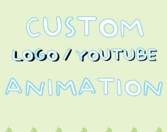 CUSTOM Logo / Youtube ANIMATION   Logo Animation   Youtube   Video Animation   Custom Animation   Character Animation   Animate my OC