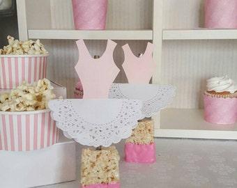 Ballet Theme Straws /Marshmallow straws / ballerina straws
