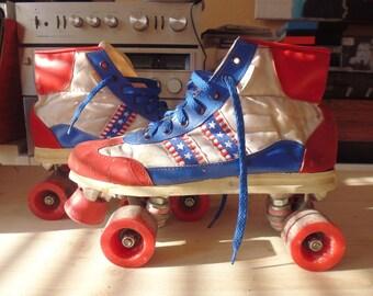 1980 vtg Roller derby oldschool T43/44