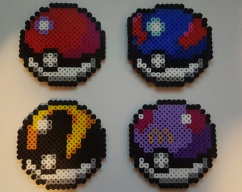 Pokemon, Pokeball Perler Beads