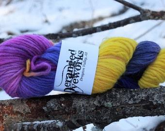 Deceptive Beauty - Hand Dyed Yarn -  Alpaca/Wool (80/20) Bulky Weight