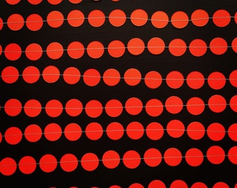 Red Paper Garland