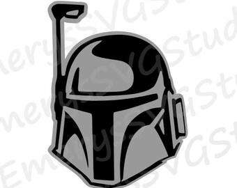 SVG File for Boba Fett Star Wars