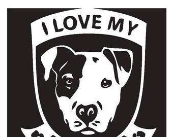 Download Pitbull clip art   Etsy