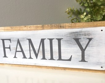 Family Pallet Sign, Rustic Pallet Sign, Family Sign