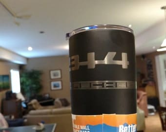 Special Laser Engraved Stainless Steel Tumbler