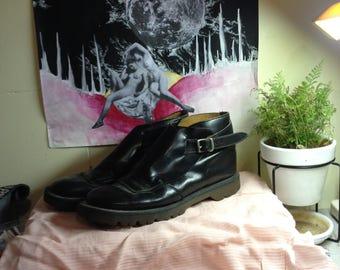 Black Ankle Dr Martens -Size 7 1/2