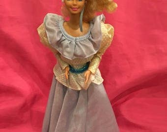 "Vintage 1989 ""Evening Enchantment Barbie"" Sears Limited Edition"