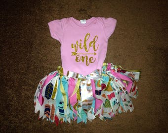 Wild One Birthday Outfit