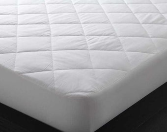 Fitted matresstopper Quilted or waterproof Mattress topper mattress cover changing mattress pad crib Mattress pad protector