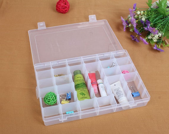 Large storage box craft storage box craft supplies bead for Craft storage boxes plastic