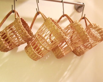 Wicker Cup Inserts (Set Of 4)