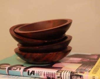 Baribocraft Wooden Salad Bowls