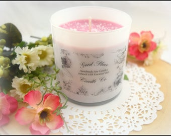 Sea Salt & Orchid Handmade Soy Candle