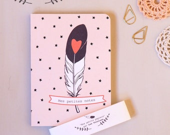 "Pocket notebook ""little notes"""