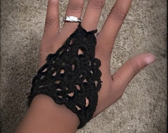 Crocheted Hand Piece