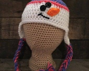Infant Snowman Hat