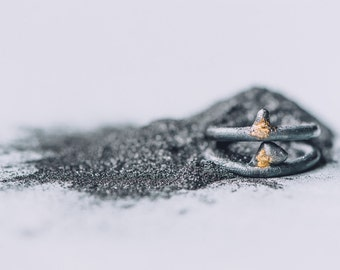 Ring, Gilles collection / / unisex - minimalist - geometric jewelry