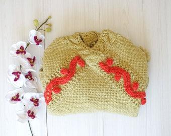 Poncho | Tassel Fringe | Chunky Poncho | Boho poncho | women poncho | gift for her | Oversize coat | Knit wool poncho | wool coat