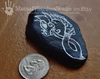 Viking Inspired Art Stone