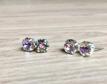 Swarovski Crystal Paradise Earrings Studs