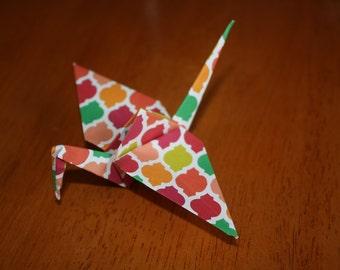20 Origami Crane Wedding Favors Bright Colors BC1/2