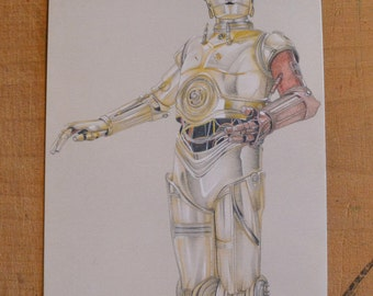 Reproduction C3PO