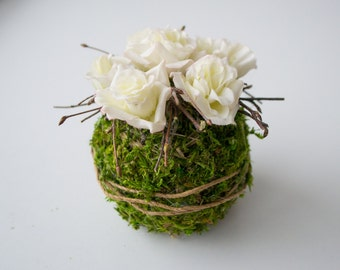 Bouquet, topiary, interior decoration, gifts, wedding decor