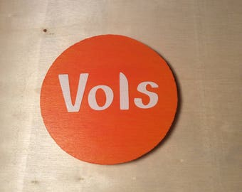 Tennessee Volunteers Round Magnets