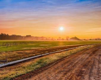 Sunrise over Texas field, Rise and Shine, Texas Sunrise, Good Morning, Sunrise Photography, Landscape Photography