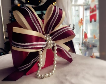 Swarovski Rhinestone headband / hairbow / fascinator / clip / hair accessories for New Year, Christmas, photoshoot, lolita, bridesmaid #005