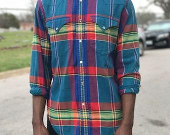 Ralph Lauren Cowboy Plaid Shirt