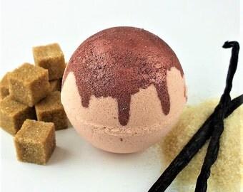 Bath Bombs Vanilla - Bath Bomb gift Set - Pink Water Bath Bomb -Hidden Colour Bath Bomb - Spa Bath Bomb Set - Handmade Bath Fizzy-Bath Fizzy