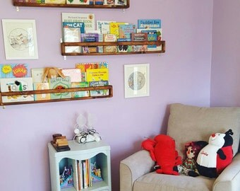 Baby Room Bookshelf THREE - Half-size