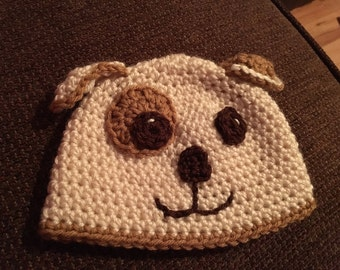 Puppy Crochet Hat