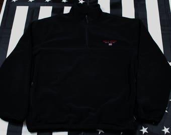 Vintage 90s Polo Sport Polartec Fleece Pullover Size L PRL Ralph Lauren RL67 Spellout